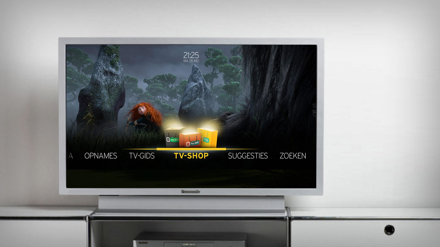 Telenet DTV interface